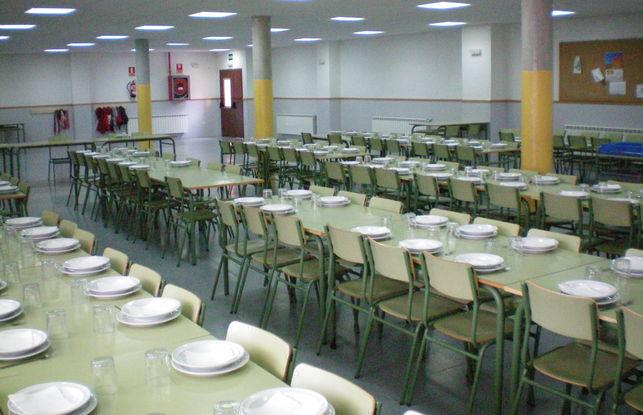 Menú halal en la escuela pública
